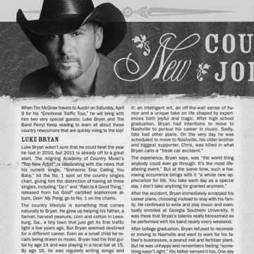 Applause - Tim McGraw Editorial