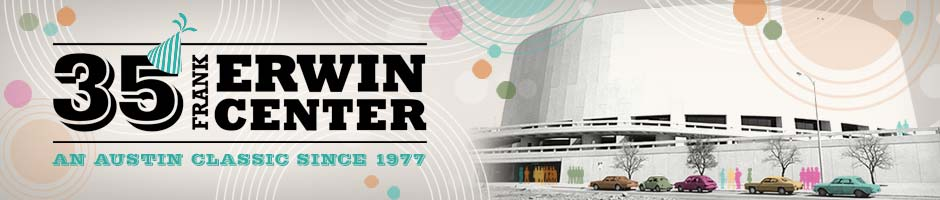 Frank Erwin Center 35th Anniversary Web Banner