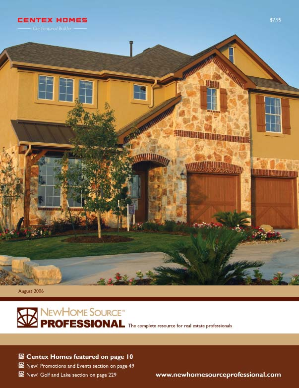 New home source professional monthly real estate catalog for New homes source