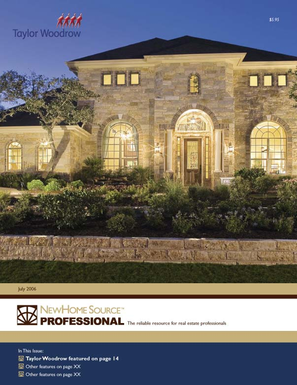 New Home Source Professional Was A 200+ Page Real Estate Catalog That I  Produced Monthly With InDesign. I Designed The Image Dominant Cover To  Feature The ...