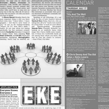 The Onion - Local Calendar EKE Cover