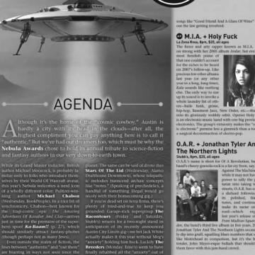 The Onion - Local Calendar Spaceship Cover