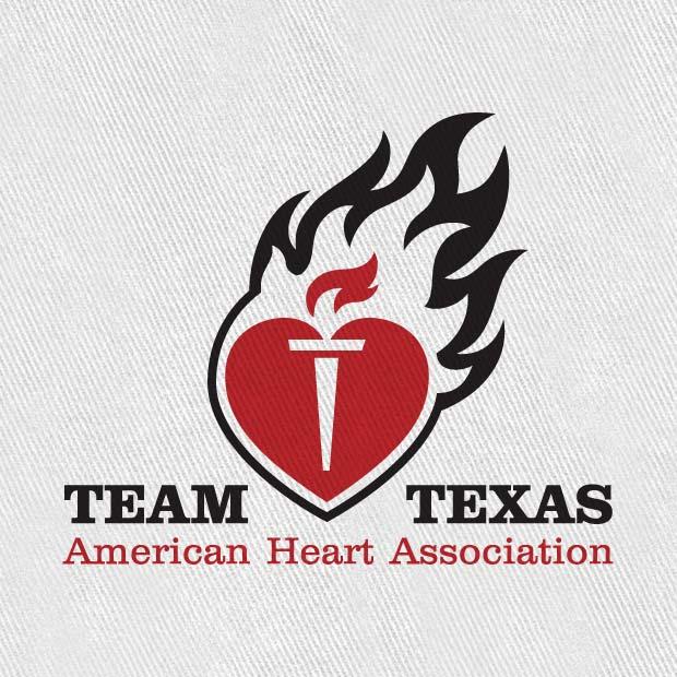 Team Texas Heart Association Logo