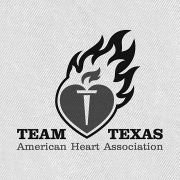 Team Texas Heart Association Logo