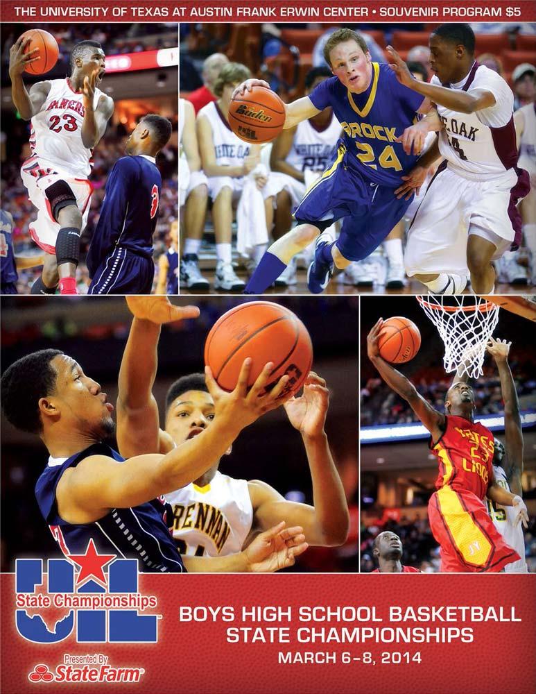 UIL Basketball Championship Programs