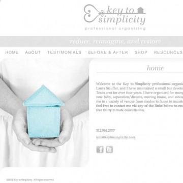 Key to Simplicity Web Design